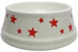 Matskål keramik Star