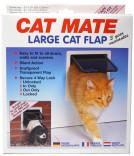 Kattedør CatMate 4-veis låsbar hvit