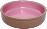 Keramikskål låg Kitten Rosa MC