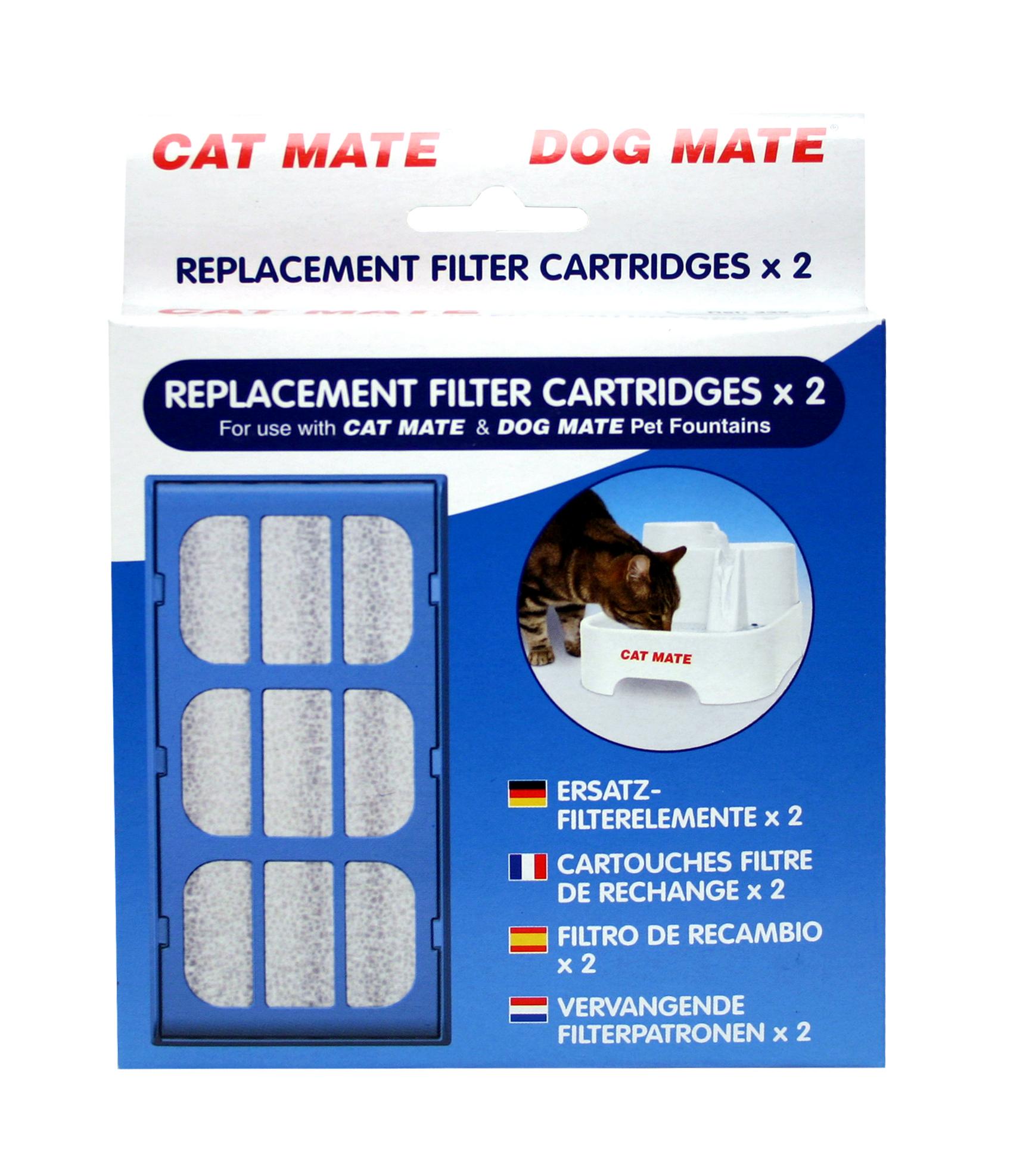 Filter til CatMate vannfontene