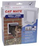 Tunnel til 4 veis låsbar kattedør CatMat