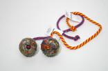 Hundeleke Gappy gummi ball med rep