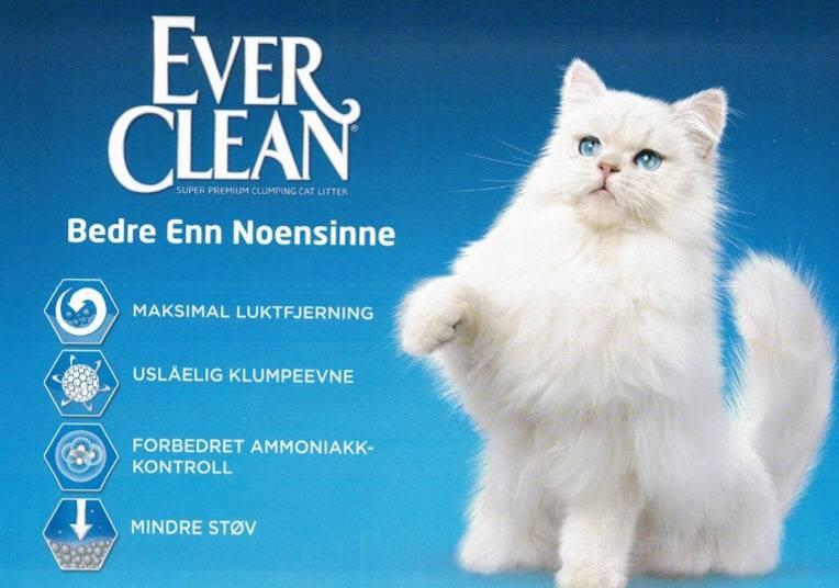 Everclean kattesand – kun til salgs i våre butikker