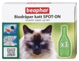 Bio spot On utøydråper katt