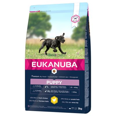 Eukanuba – Puppy Large Breed Kylling