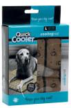 Hundematte Quick Cooler brun vaskbar