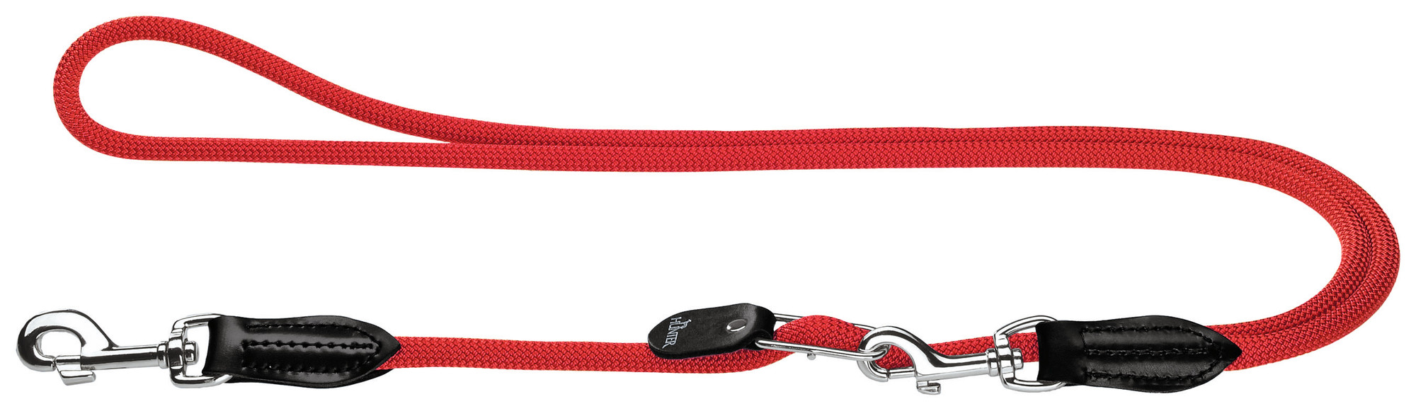 Hunter Hundekobbel Justerbart Rød