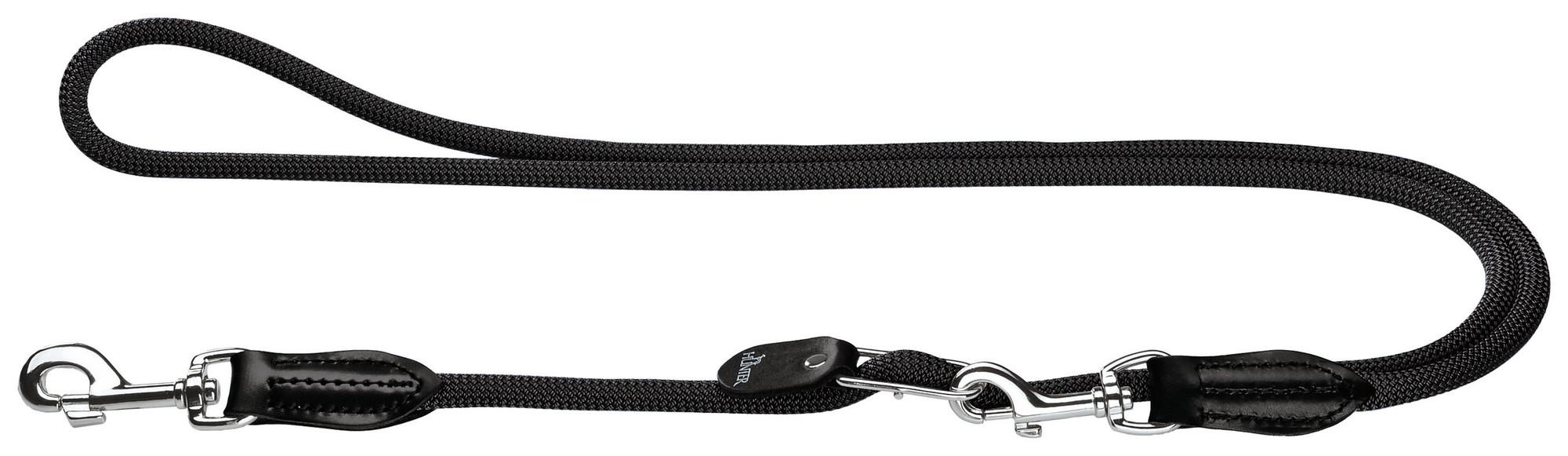 Hundekobbel justerbart svart