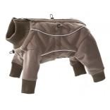 Varmedekken Hurtta vanntett fleece overall brun