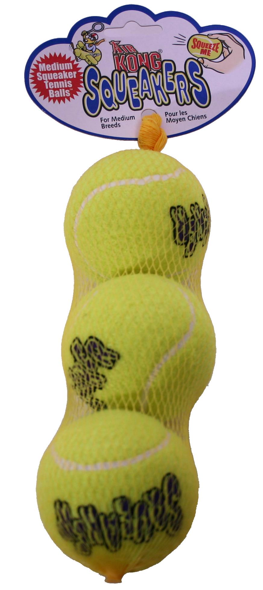 Hundeleke Kong squeakers tennisball
