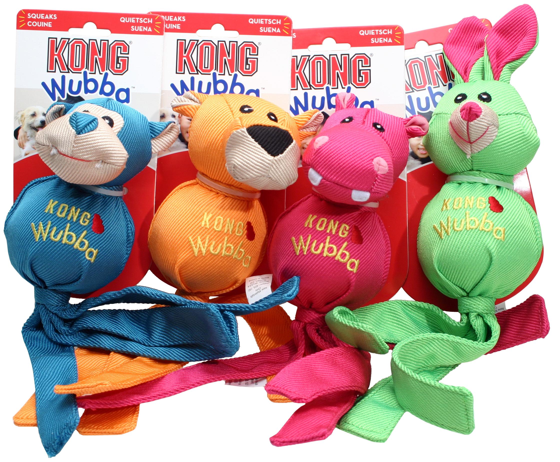 Hundeleke Kong Wubba