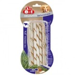 Tyggebein 8in1 Delights twisted sticks