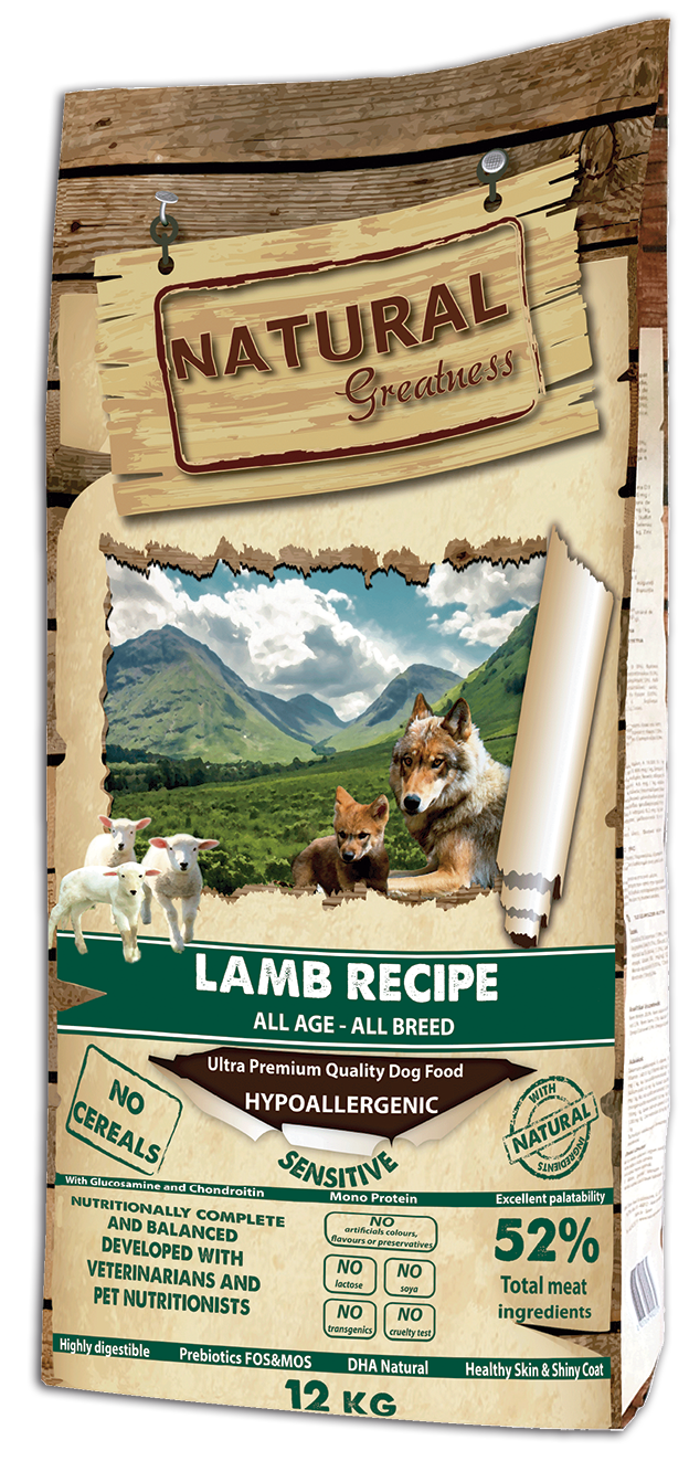 Hundefôr Natural Greatness Lam