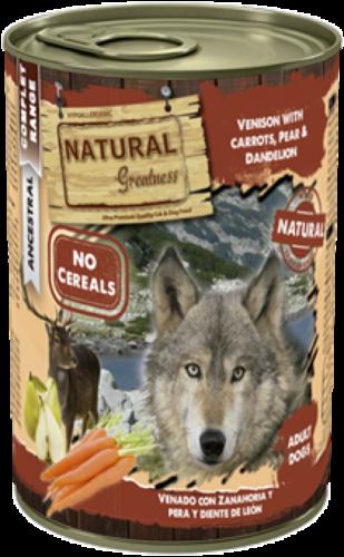 Natural Greatness våtfôr Villt og gulerøtter