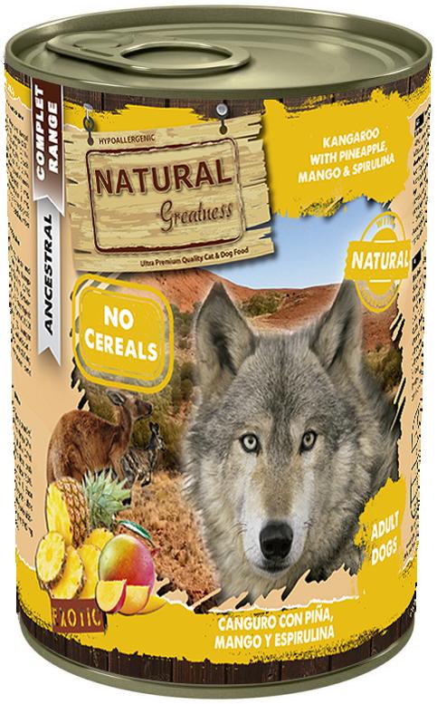 Natural Greatness våtfôr kangaroo og ananas