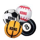 Hundeleke Kong Sportball – uten pip