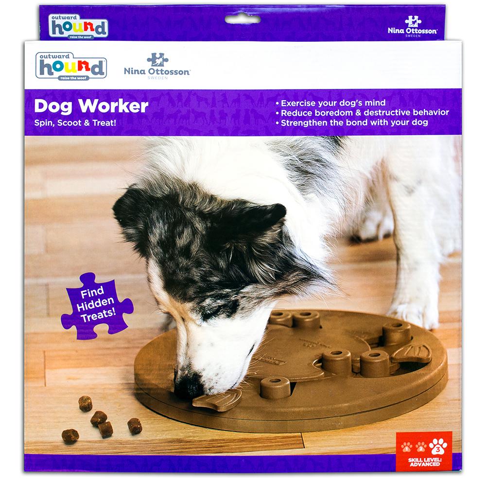 Aktivitetsleke Dog Worker Plast Nina Ottoson