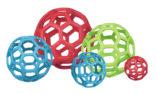 Hundeleke Holee Roller nettball gummi