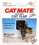 Kattedør CatMate 2 veis låsbar hvit