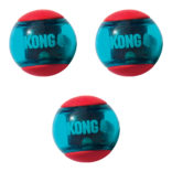 Hundeleke Kong squeezz action ball