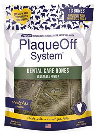 Tyggebein Plaqueoff Dental Care bones Veggie