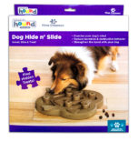 Aktivitetsleke hund Dog Hide and Slide