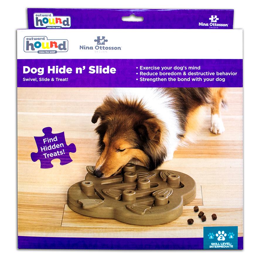 Aktivitetsleke hund Dog Hide and Slide