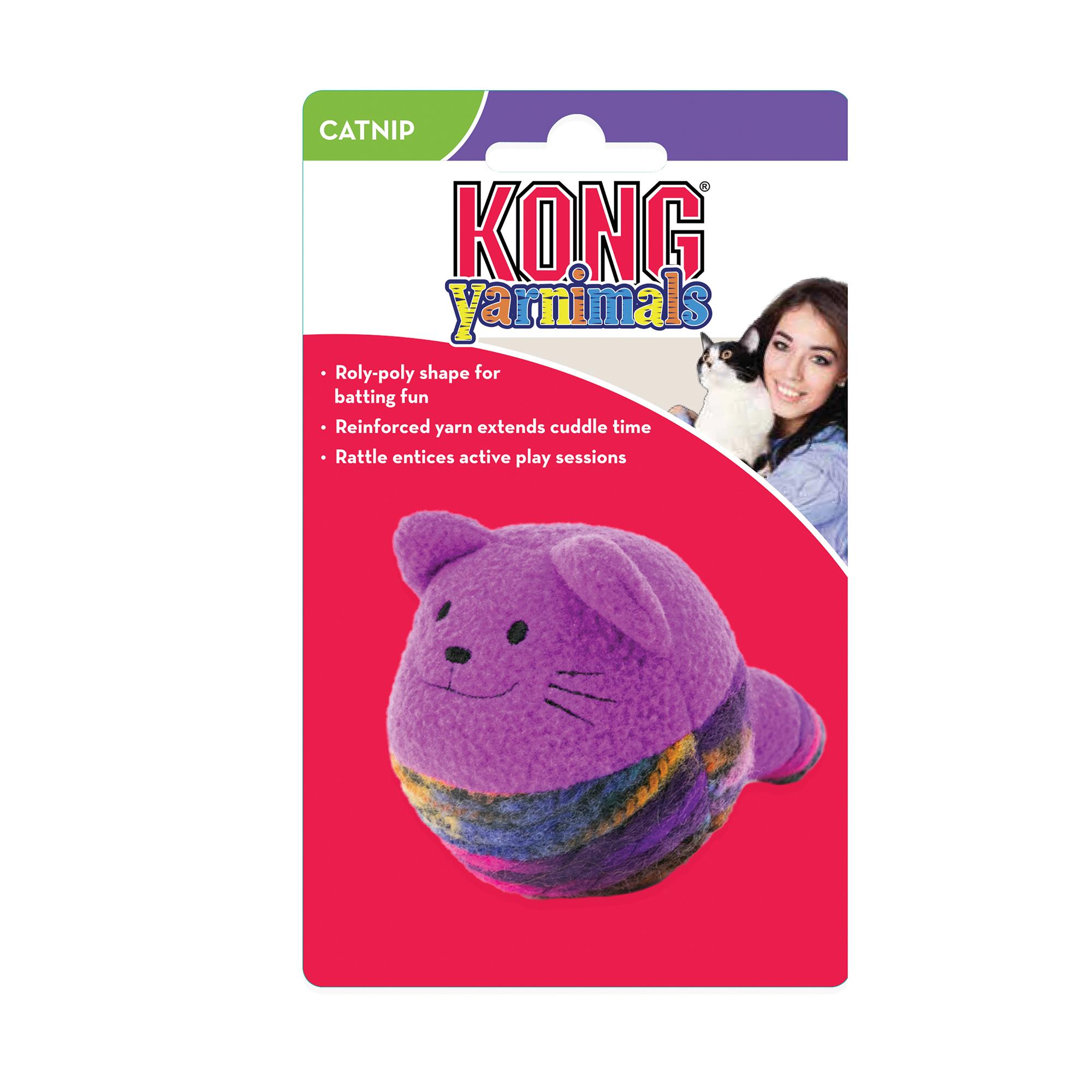 Katteleke Kong Yamimals med catnip