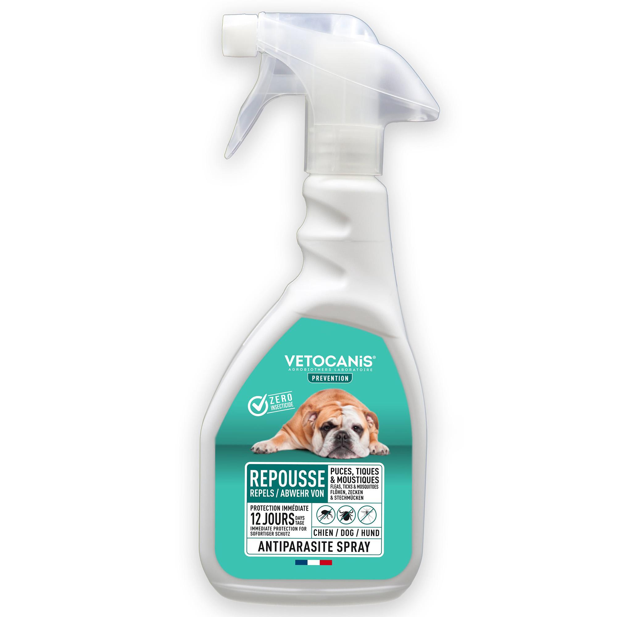 Antiparasitt pumpspray hund