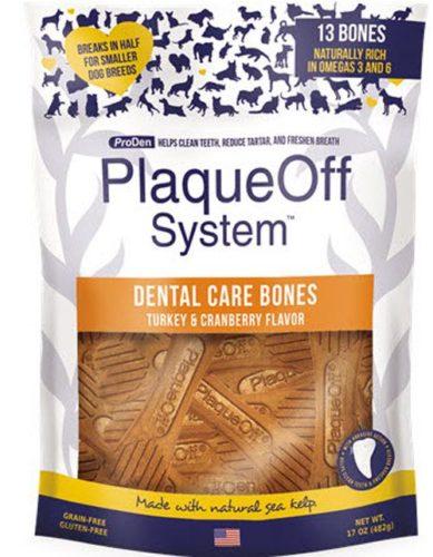 PlaqueOff Bone kalkun & tranbær
