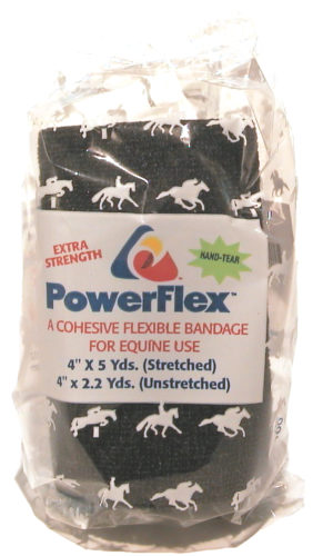 Powerflex Bandage Svart 10cm