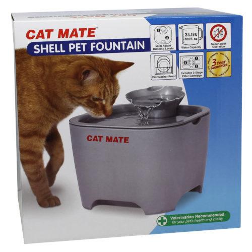 Vannfontene Catmate Grå 3 Liter