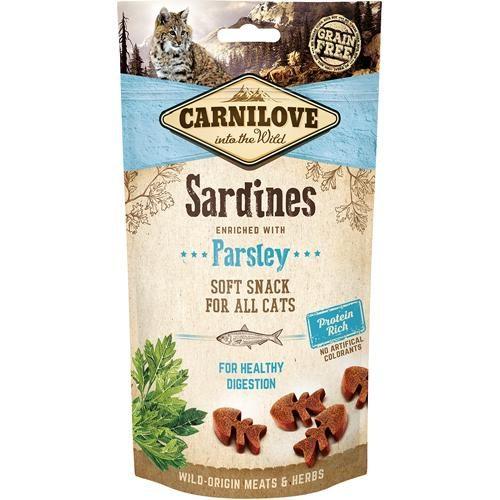 Carnilove Myk Sardine Godbit Til Katt 50gr
