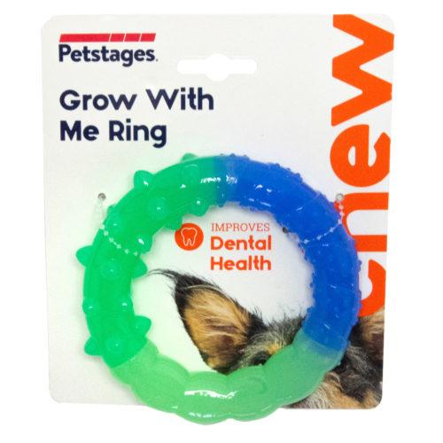 Petstage – Tyggeleke «Grow With Me Ring»