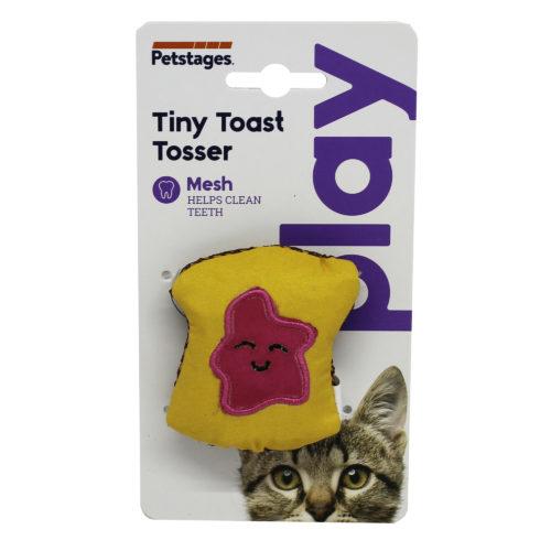 Petstage Katteleke – Tiny Toast Tosser