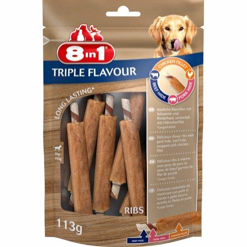 8in1 – 6pk Tyggeben Med 3 Smaker