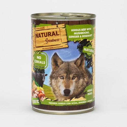 Natural Greatness Våtfôr Angus Beef Mush