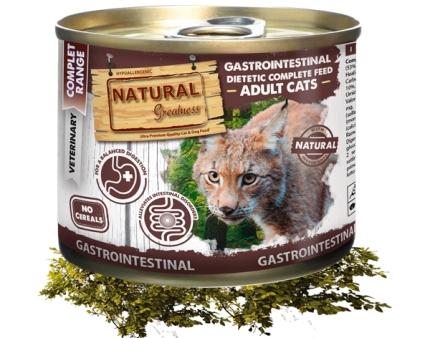 Natural Greatness – Veterinær Diett Gastrointestinal 200gr.