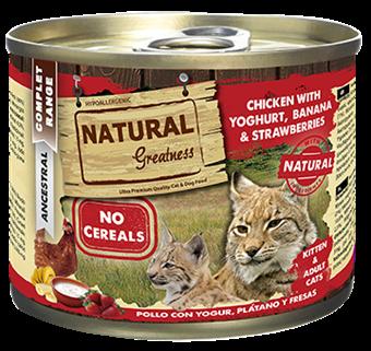 Natural Greatness, Kattunge, kylling m/ yoghurt, 200gr