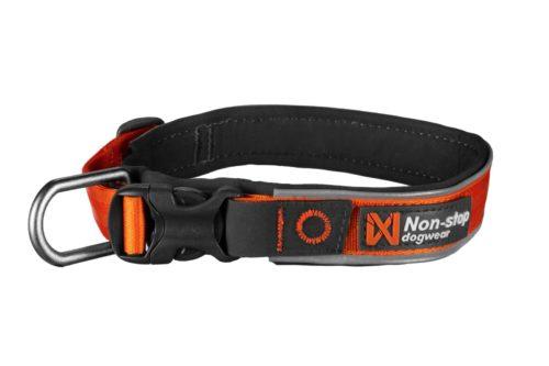 Non-Stop Dogwear Halsbånd Roam – Oransje