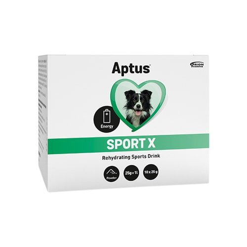 Aptus Sport X Drikkepulver, 10×25 g